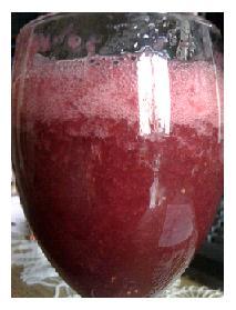 strawberry and melon jiuce